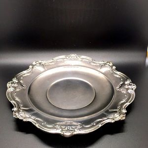 A Gorham Silver Original Serving Buttler Plate